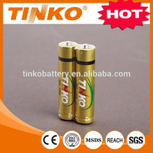 ALKALINE DRY BATTERY aaa size lr03 1.5v with SGS ,MSDS