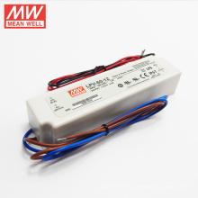 Gute qualität 6 watt zu 150 Watt kunststoff fall UL CE ROHS 60 watt dc12v führte stromversorgung LPV-60-12
