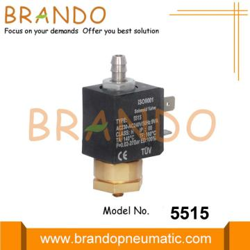 3 Way Pembuat Kopi Brass Solenoid Valve 240V