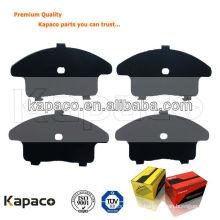 Kapaco rubber coated metal sheet for brake padD1345