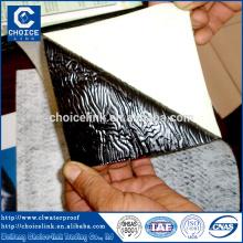 Aluminum self adhesive bitumen waterproofing membrane for building roof