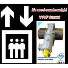 GT120WL VVVF Roller Elevator Traction Machine