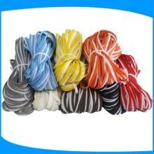 Tuyau réfléchissant coloré pour la fixation réfléchissante de capuchon pour l'habillement