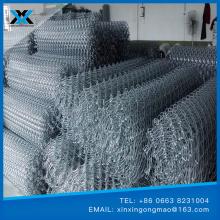 Malla de diamante de acero inoxidable galvanizada o PVC