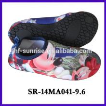 SR-14MA041-9 el agua al por mayor de China calza los zapatos del agua de los zapatos del agua el practicar surf calza los nuevos zapatos del aqua del diseño