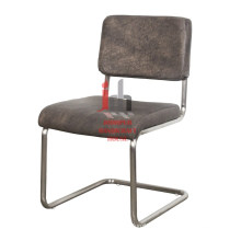 Leather Iron Office Chair