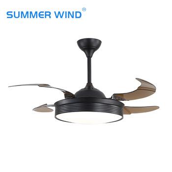 matte black ceiling fan light