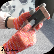 SRSafety supper flexible phone glove/finger touch gloves