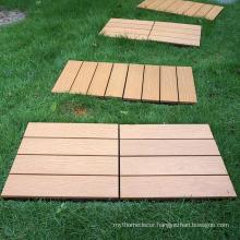 Easy installation interlocking deck tiles DIY floor pool decking from factory