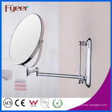Fyeer High Quality Round Foldable Wall Mounted Magnifying Makeup Mirror