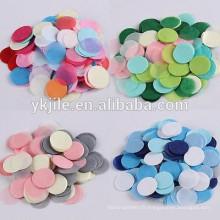 Décorations de fête de cérémonie de mariage Clair confettis magiques en latex transparent