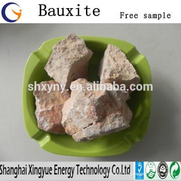Refractario alta temperatura calcinada bauxita / bauxita horno precio