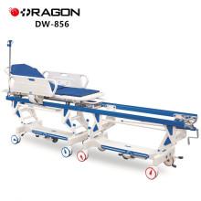 DW-856 bon marché opération manuelle de transfert patient d'hôpital reliant le chariot