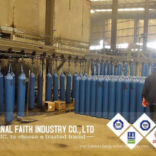 Competitive Hot Product 50L Seamless Steel Oxygen Cylinder Valve