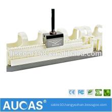 "100 pair 110 voice 48 port patch panel / 1U 19"" telephone voice wiring block / RJ11 patch panel"