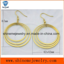 Joyería personalizada del pendiente de la joyería del cuerpo del acero inoxidable (ERS6922)