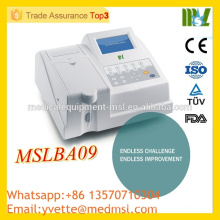MSLBA09 Wholedsale Price Analyseur de biochimie semiautomatique fabriqué en Chine