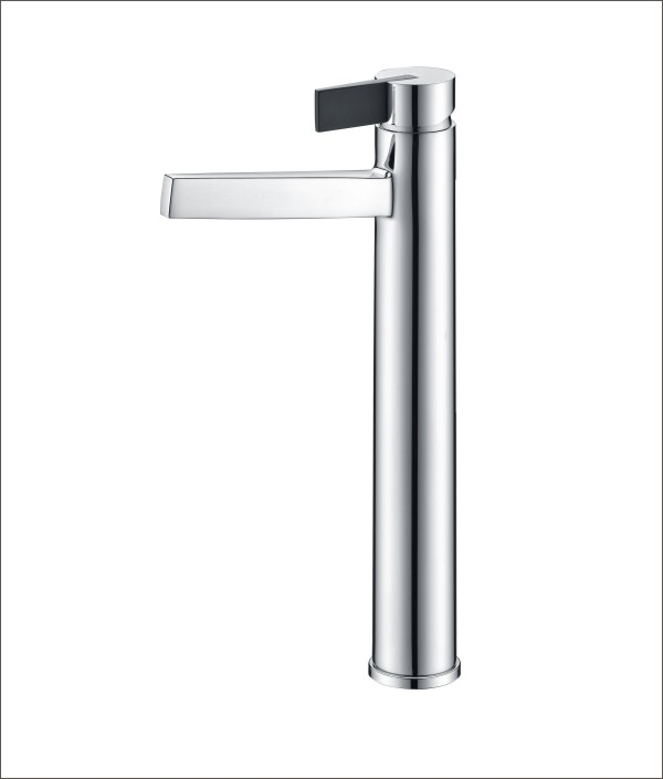 Modern Tall Vessel Sink Bathroom Faucet Basin Mixer