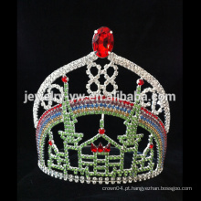 Shinning cristal casamento nupcial tiara cabelo acessórios coroa de cabelo