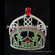 Shinning кристалл свадьба свадебный тиара аксессуары для волос корона