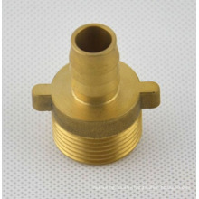 OEM manufacturing hot forging turning brass precision cnc machined part