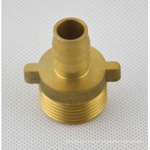 Fabricação de OEM quente forjamento torneamento de precisão de bronze cnc parte usinada