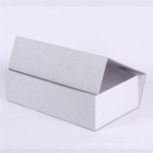 Серебряная фольга косметическая коробка раскладной подарочная бумага