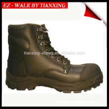 ПУ/резиновая подошва ботинки безопасности с стальным носком