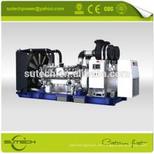 Generador diesel 1000KVA / 800KW MTU con motor original de Alemania 16V2000G65 MTU