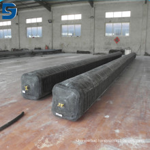 High quality inflatable rubber balloon for culvert making