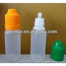 Frasco de plástico para tabaco