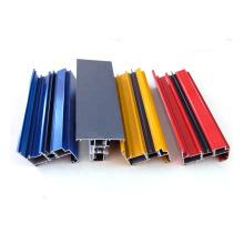 Verschiedene Farbpulverbeschichtete Aluminiumprofile Ex