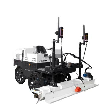 Six-wheel Type Laser Screed Machine