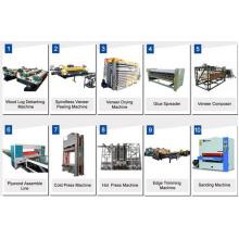 Holzfurnier-Hydraulik-Laminier-Heißpressmaschine