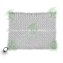 Baina stainless steel chain mail scrubber