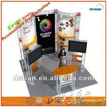 3x3 stand de exposição de design de exposição de cabine de alumínio e exibição de exposição estande de exibição de comércio