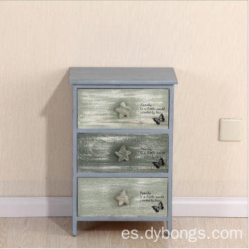living room 3 layers wooden storage bedside cabinet