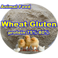 Wheat Gluten (protein75-80) for Feed Additive