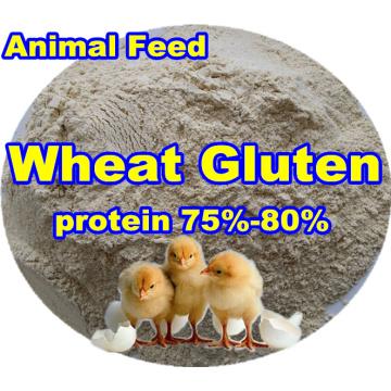 Пшеничная клейковина (protein75-80) для кормовой добавки