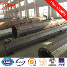 4.5mm Thickness Octagonal 25m Steel Electric Lighting Poles