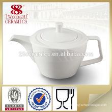 Dubai wholesale market Korean restaurant white ceramic tea pots