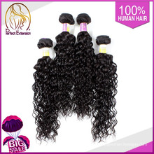 2015 neue Produkte für Frauen indische blondes lockiges Haar Extensions
