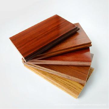 Billig Dekor Material Natürliche Farbe Massivholz / Hartholz Bodenbelag
