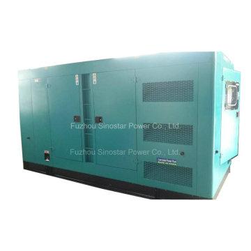 240kw 300kVA Тихий типовой дизельный генератор мощностью 3 фазы с Perkins