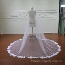 Высокое качество свадьбы вуаль один слой