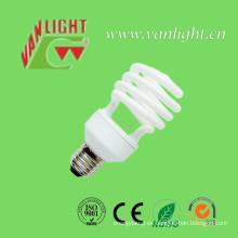 Media espiral T2-20W CFL luz, lámpara ahorro de energía