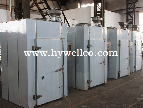 Cassava Hot Air Cycle Oven