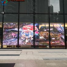 PH3.96-7.81 AdvertisingTransparent LED Display Seitenbeleuchtung