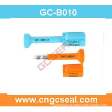 Sello numerado GC-B010 del perno con acero al carbono