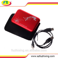 Caja de disco duro USB 2.0 SATA HDD Caja de disco duro